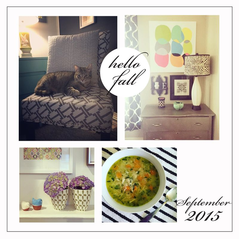 Hello Fall • September 2015 • designhappyhome